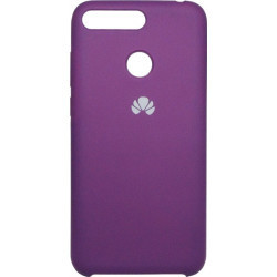 Накладка Huawei Y6 Prime (2018)/Honor7A Pro violet Soft Case
