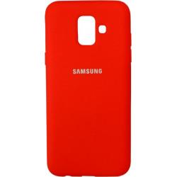 Накладка SA A6 (2018) A600FZ red Soft Case