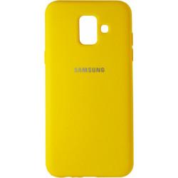 Накладка SA A6 (2018) A600FZ yellow Soft Case