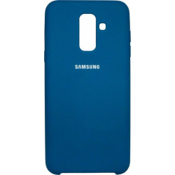 Накладка SA A6+ (2018) A605 green blue Soft Case