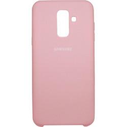 Накладка SA A6+ (2018) A605 pink Soft Case