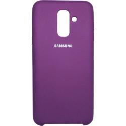 Накладка SA A6+ (2018) A605 violet Soft Case
