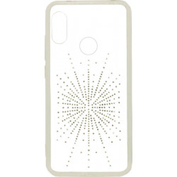 Силикон Xiaomi Mi A2 Lite white Silver Shine