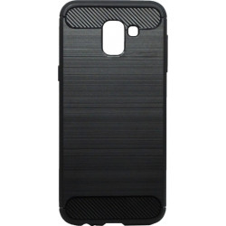 Накладка SA J6 (2018) black slim TPU PC