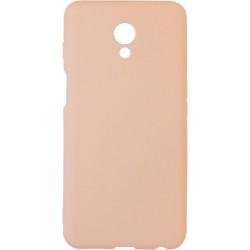 Силикон Meizu M6S pink Soft Touch
