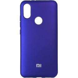 Накладка Xiaomi Mi A2/6X violet Soft Case