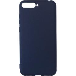 Силикон Huawei Y6 (2018)/Honor7A dark blue Soft Touch