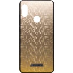 Накладка Xiaomi Redmi Note5/5Pro gold мозаика Motomo