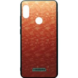 Накладка Xiaomi Redmi Note5/5Pro red мозаика Motomo
