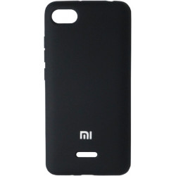 Накладка Xiaomi Redmi6A black Soft Case