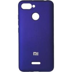 Накладка Xiaomi Redmi6 violet Soft Case