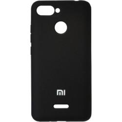 Накладка Xiaomi Redmi6 black Soft Case