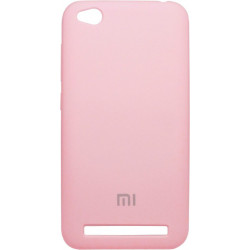 Накладка Xiaomi Redmi5A pink Soft Case