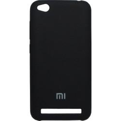 Накладка Xiaomi Redmi5A black Soft Case