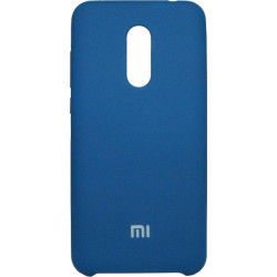 Накладка Xiaomi Redmi5 Plus green blue Soft Case