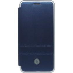 Чехол-книжка Xiaomi Redmi6A blue Metall iMAX