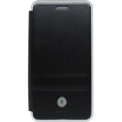 Чехол-книжка Xiaomi Redmi6A black Metall iMAX