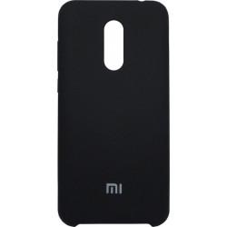 Накладка Xiaomi Redmi5 Plus black Soft Case