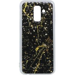 Силикон SA A6+ (2018) A605 black Marble