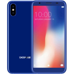 Doogee X55 Blue 1/16Gb Гарантия 3 месяца