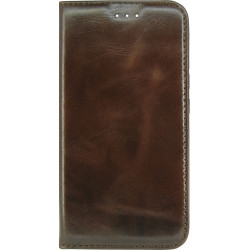 Чехол-книжка Xiaomi Redmi6A dark brown Piligrim