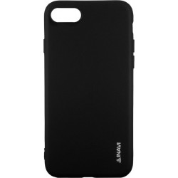 Силикон iPhone 7/8  black Inavi