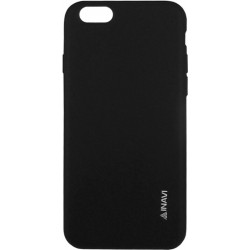 Силикон iPhone 5 white 0.7mm Inavi