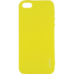 Силикон iPhone 5 yellow Inavi