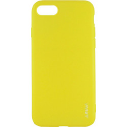 Силикон iPhone 7/8 yellow Inavi