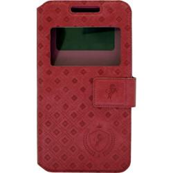 """Чехол-книжка универсальный 4.8-5.3"""" raspberry Royal Window"""