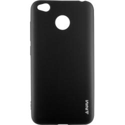 Силикон Xiaomi Redmi4X black Inavi