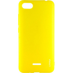 Силикон Xiaomi Redmi6A yellow Inavi