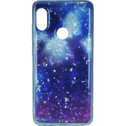 Силикон Xiaomi Redmi Note5/5Pro violet Marble