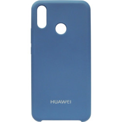 Накладка Huawei P Smart Plus blue Soft Case