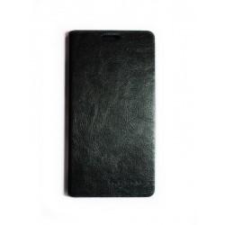 Кожаный чехол-книжка Lenovo S810 black