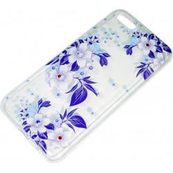 Силикон Huawei Y5 (2018)/Honor 7A violet Flowers iPefet
