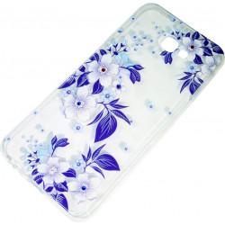Силикон SA J415/J4+ violet Flowers iPefet