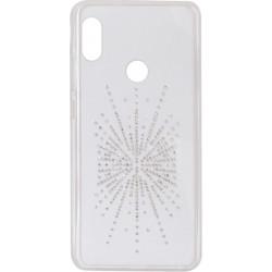 Силикон Xiaomi Redmi Note5/5pro white Silver Shine
