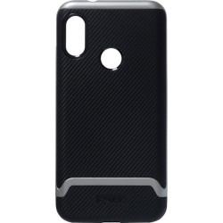 Накладка Xiaomi Mi A2 Lite/6Pro black/gray Hybrid iPAKY