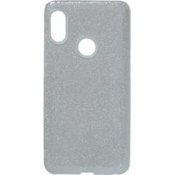 Силикон Xiaomi Redmi Note5/5Pro silver Glitter