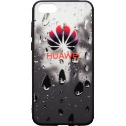 Накладка Huawei Y5 (2018) black 3D Rain