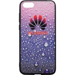 Накладка Huawei Y5 (2018) violet 3D Rain