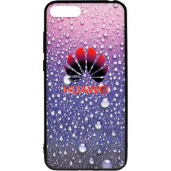 Накладка Huawei Y6 Prime (2018)/Honor7A Pro violet 3D Rain