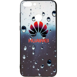 Накладка Huawei P Smart dark blue 3D Rain