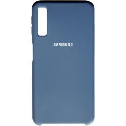 Накладка SA A750/A7 (2018) dark blue Soft Case
