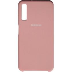 Накладка SA A750/A7 (2018) pink Soft Case