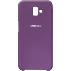 Накладка SA J610/J6+ violet Soft Case