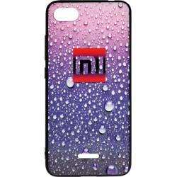 Накладка Xiaomi Redmi6A violet 3D Rain