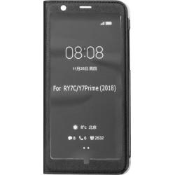Чехол-книжка Huawei Y7 Prime (2018)/Honor7C/7C Pro black Window Full