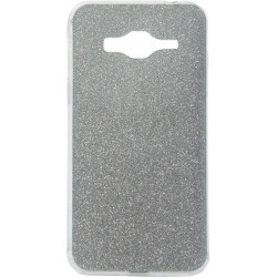 Силикон SA J3/J320 black Glitter